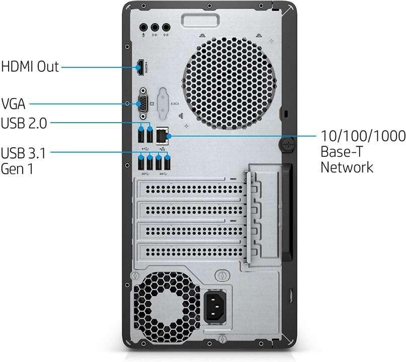 Pc HP Pavilion 590-P0033W intel core i3-8100 - 1