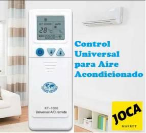 Control universal para aire acondicionado