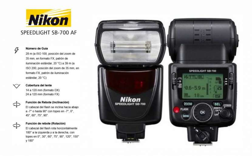 Flash Nikon SB-700 - 0