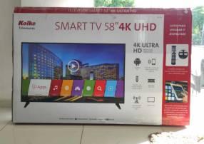 Smart tv 4k uhd Kolke 55 pulgadas