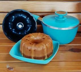 Olla y utensilios para pastelería de Marca Essen