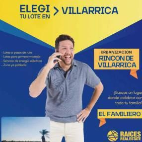 Lotes en urbanización Rincón de Villarrica