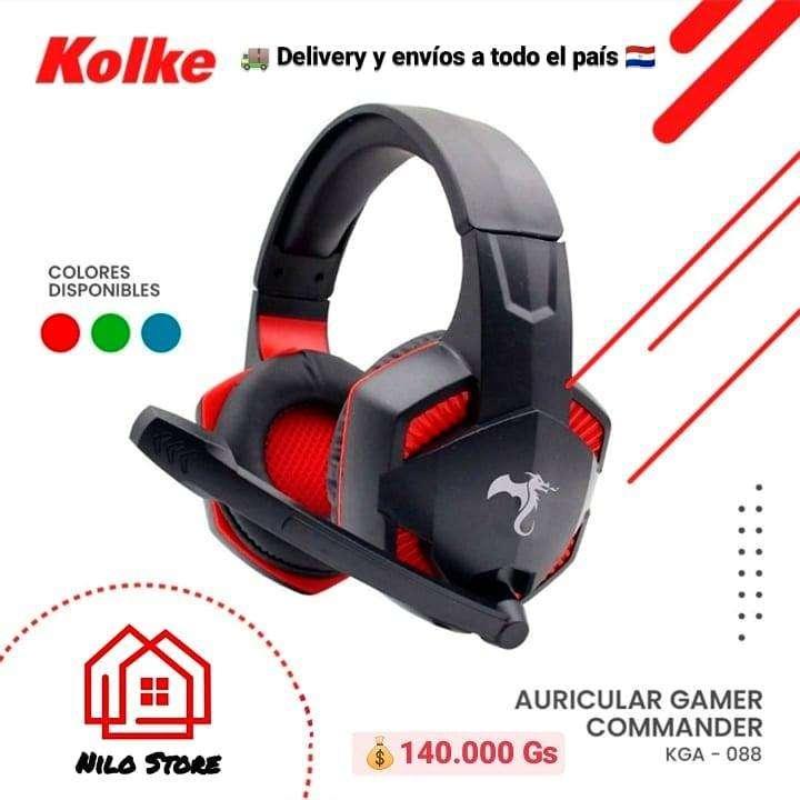 Auricular gamer Kolke Comander - 0