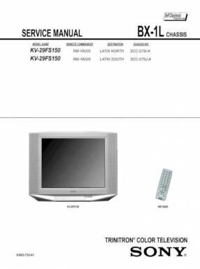 Televisor Sony Wega Kv-29fs150