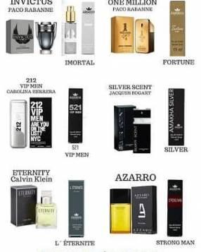 Perfumes de bolsillo 15 ml