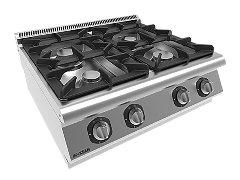 Inoksan cocina 4 gas - 1 modulo - 0
