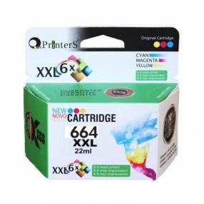Cartucho 664 xxl color p/ impresora hp