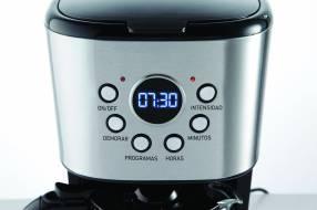 Cafetera eléctrica con timer Peabody