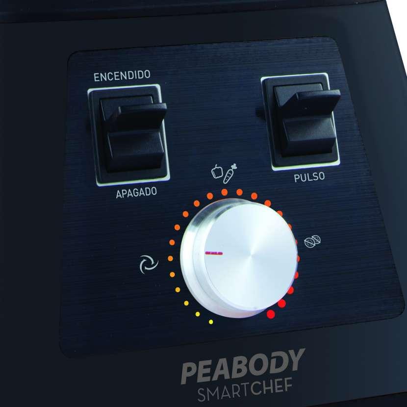 Licuadora de mesa 1500w color: negro peabody - 0