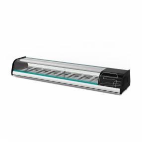 Asber vitrina refrigerada sobre mostrador-sushi line 220/50/hz