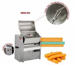 Mezcladora de carne con tapa Skymsen modelo MMS-50I 50 KG 1/2H