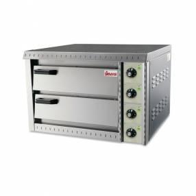 Sirman horno p/pizza 2/niv-doble 220v/50hz p-6400w