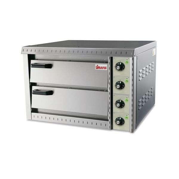 Sirman horno p/pizza 2/niv-doble 220v/50hz p-6400w - 0