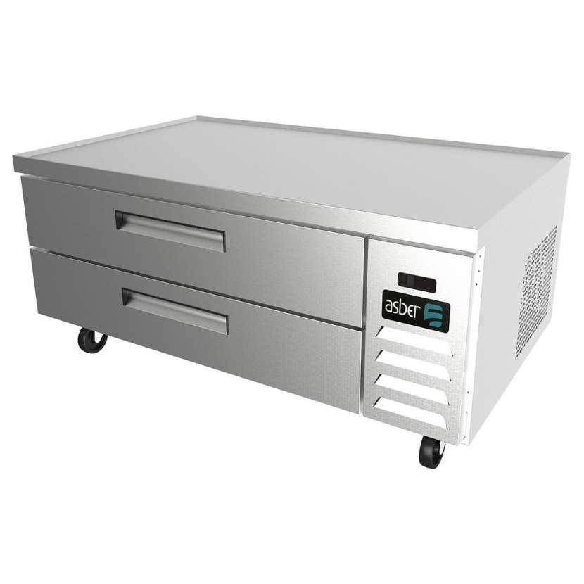 Asber base refrigerada para chef - 0