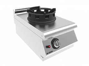 Cocina a wok 1/2 módulo Inoksan