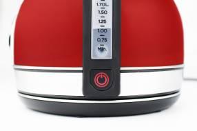Jarra eléctrica con termómetro y corte mate peabody