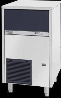 Fabricadora de hielo 46kg/dia - hielo cubo 33 gr. Brema