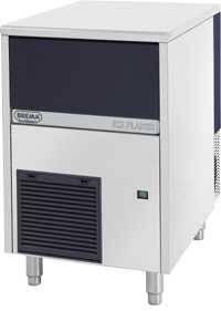 Fabricadora de hielo 550w 90kg/dia - escama brema