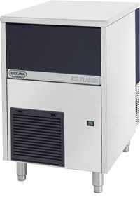 Fabricadora de hielo 550w 90kg/dia - escama brema - 0