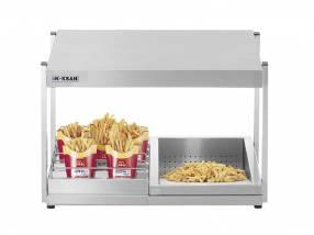 Mantenedor de fritos sobre mesa Inoksan