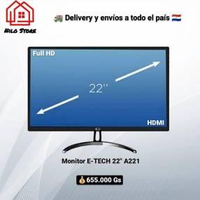 Monitor E-TECH 22 pulgadas A221