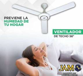 Ventilador de techo JAM