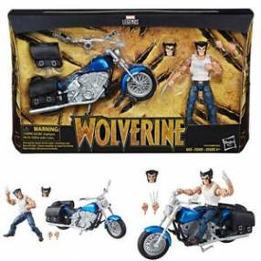 Marvel Legends Wolverine con Motocicleta