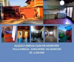 Casa en barrio Villa Aurelia