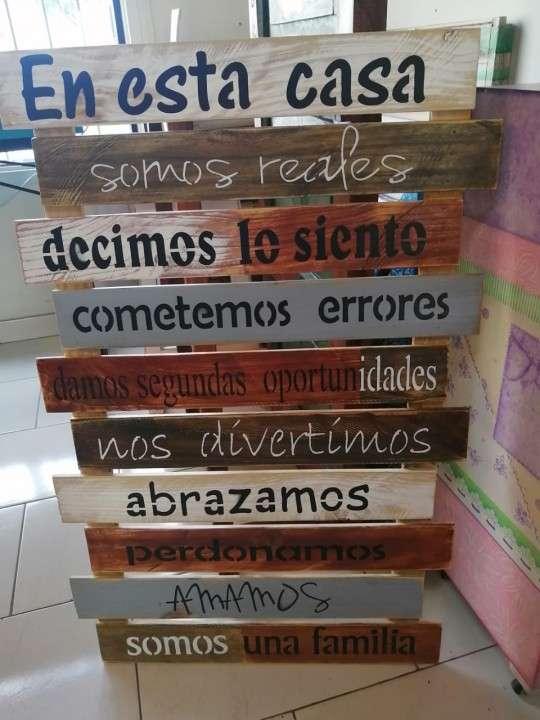 Frases en madera - 1