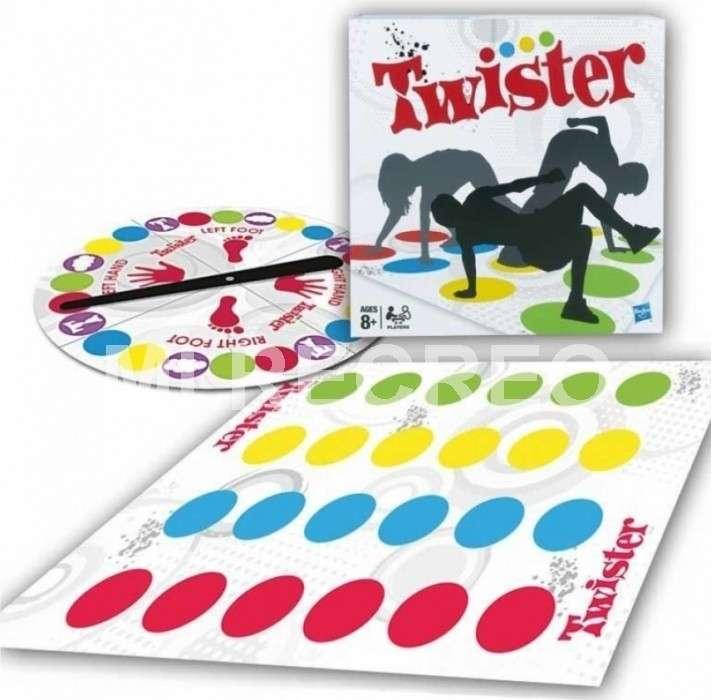 Juego twister con ruleta - 1