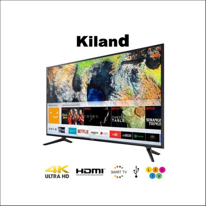Smart tv 4k Kiland 75 pulgadas - 0