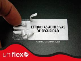 Etiquetas de seguridad ultra destructibles
