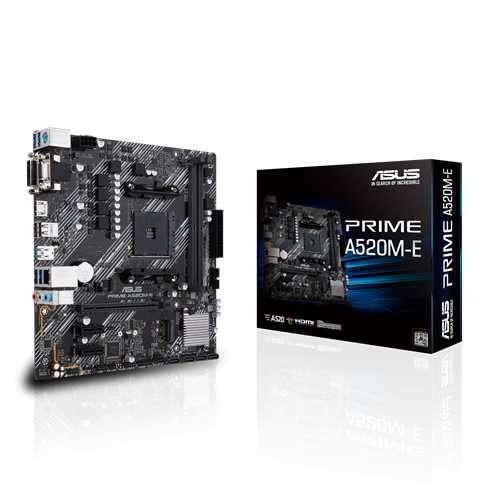 Placa madre Asus Prime A520M-E AM4 - 0