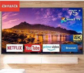 Smart TV de 75 pulgadas FHD