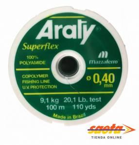 Hilo nylon 0.30mm x 100m Araty