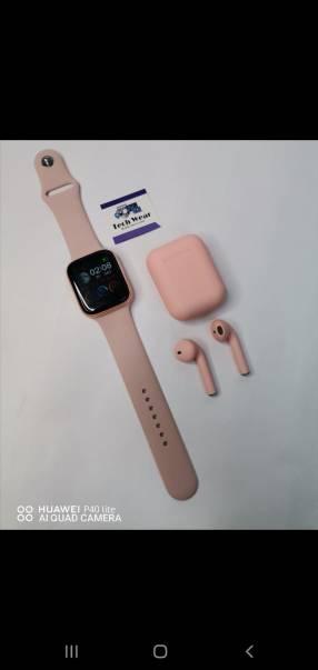 Reloj X9 y auricular i12