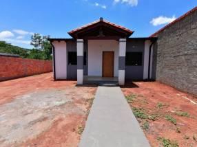 Casa a estrenar en Ñemby Mbocajaty F3272