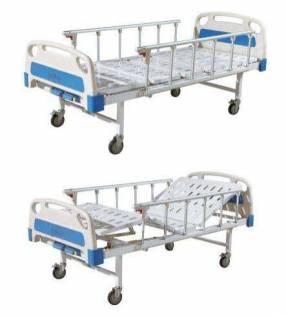 Camas hospitalarias de dos y tres movimientos manual