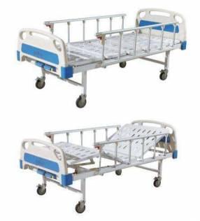 Cama hospitalaria de 2 y 3 movimientos manuales