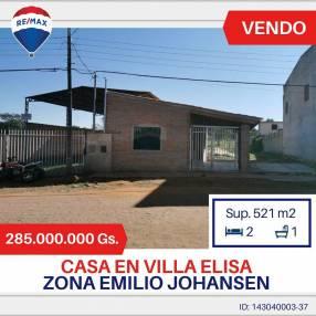 Casa a refaccionar en Villa Elisa