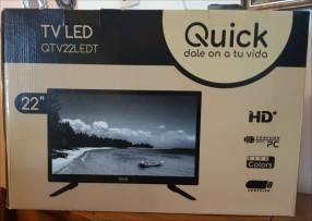 TV LED de 22 pulgadas Quick