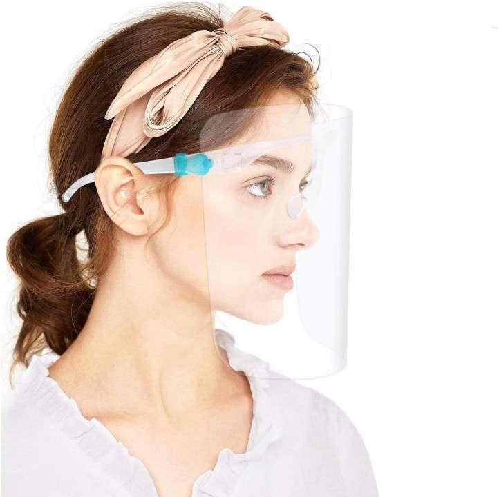 Protector facial reutilizable x unidad - 0