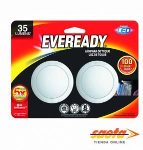 Linterna Eveready LED a presión X2