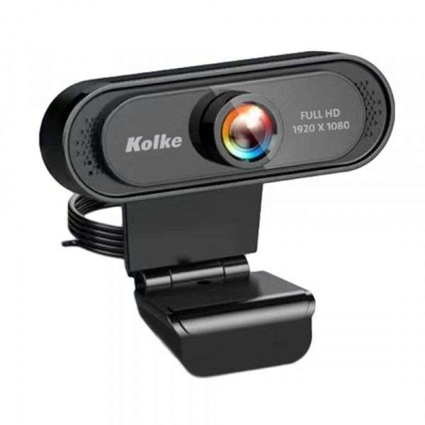Cámara web Kolke 1080P full hd usb 2.0 KEC-486 - 0