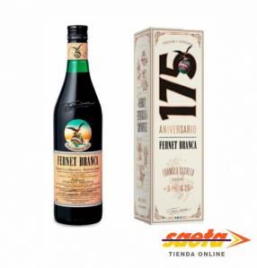 Fernet Branca botella 750 estuche aniversario 175 años