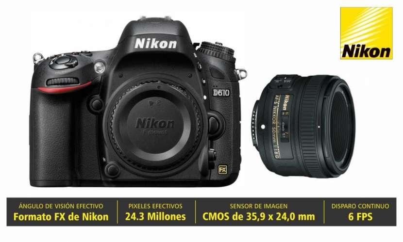 Cámara Nikon D610 Kit 50mm - 0