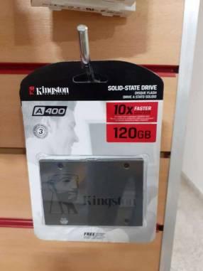 Disco Externo Kingston A400 120 gb