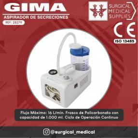 Aspirador de secreciones portátil Gima 28279