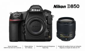 Cámara Nikon D850 Kit 35mm