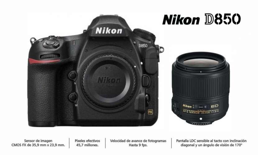 Cámara Nikon D850 Kit 35mm - 0